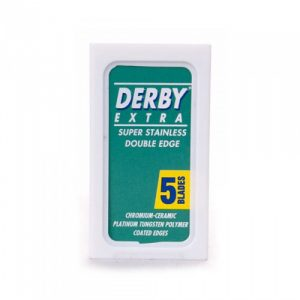 Двусторонние сменные лезвия для бритья Derby Extra