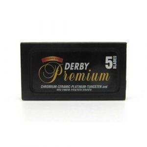Двусторонние сменные лезвия для бритья Derby Premium