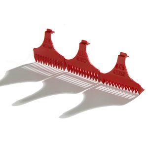 Набор красных насадок WAHL 3 шт, 3072-016