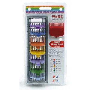 Набор цветных насадок WAHL 8шт, 3170-417