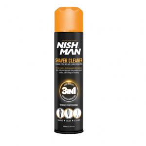 Спрей для чистки инструмента 3 в 1 Nishman Shaver Cleaner 300мл