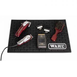 Коврик парикмахерский Wahl для инструментов черный резиновый